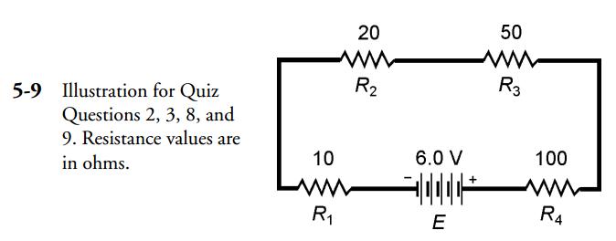 Gibilisco MCQs image for CH5 Q2,3,8,9