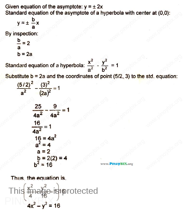 parabola ellipse and hyperbola pdf