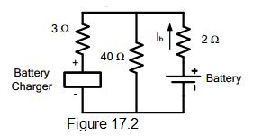 electrical circuit figure 17.2