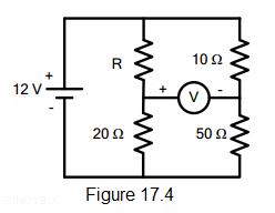 electrical circuit figure 17.4