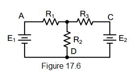 electrical circuit figure 17.6