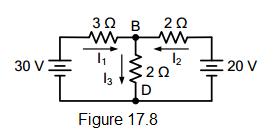 electrical circuit figure 17.8