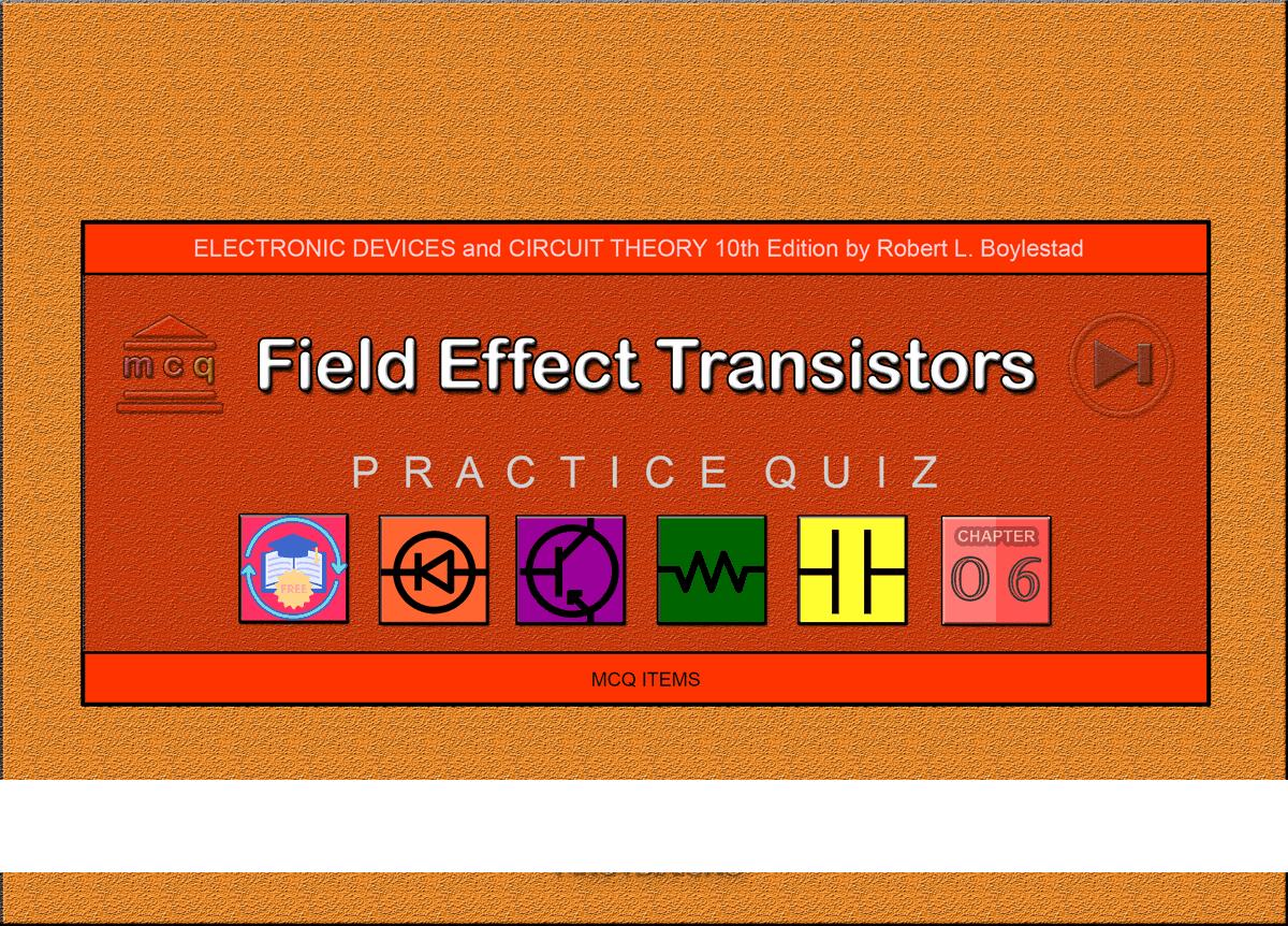 Boylestad: MCQ in Field Effect Transistor Devices