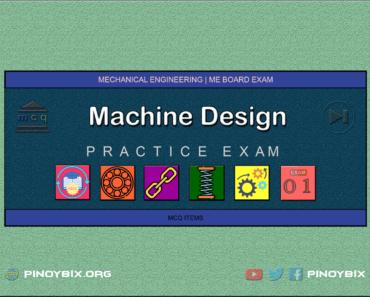 MCQ in Machine Design Part 1 | ME Board Exam