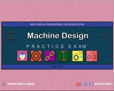 MCQ in Machine Design Part 2 | ME Board Exam