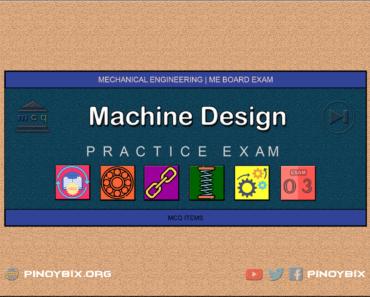 MCQ in Machine Design Part 3 | ME Board Exam