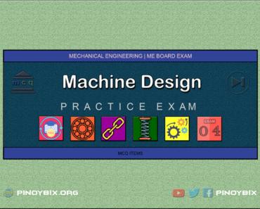 MCQ in Machine Design Part 4 | ME Board Exam