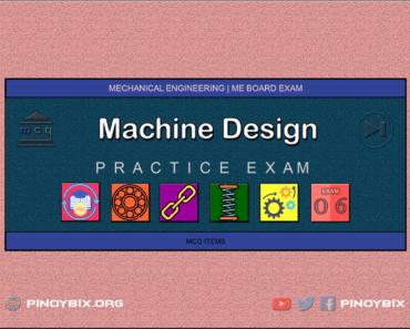 MCQ in Machine Design Part 6 | ME Board Exam